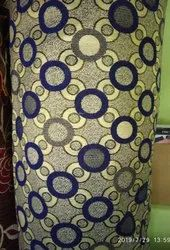 Cotton Printed Golden Chenille Fabric, For Curtain, 180 Gsm