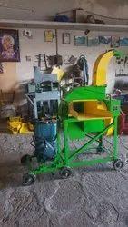Blower Chaff Cutter Machine