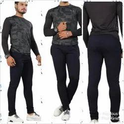 Mens Plain Track Pant