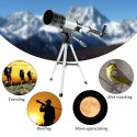 FotoCart 50mm Refractor Telescope, Astronomical Telescope, 90x Power Telescope, Telescope
