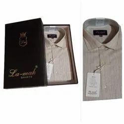 Premium Cotton Checks Men Formal Shirts, Machine Wash