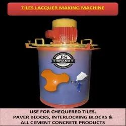 Tiles Lacquer Making Machine