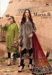 Deepsy Suits Maria B Lawn Vol 21 Cotton Print With Embroidery Pakistani Suit Catalog