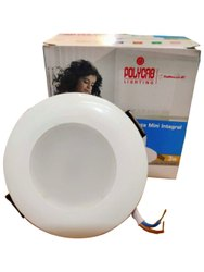 Round 3 W Polycab LED Panel Light, For Indoor, 220 V