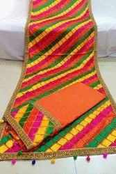Best Suits Punjabi Embroidered Suit, Dry clean