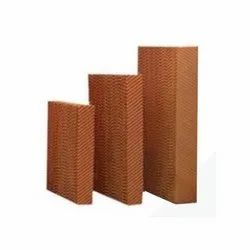 High Efficiency Honey Comb Pad For Air Washer, Cooler