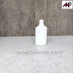 60 ML HDPE Flat Bottle