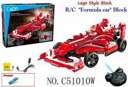 Racing Formula Car Lego Style Block Toy