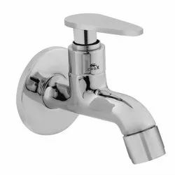 Crox Silver Chrome Plated Brass Long Body Tap, For Bathroom Fitting, Size: 2 Cm (hole Diameter)
