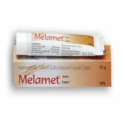 Melamet Cream ( Tretinoin+Hydroquinone 2.0%+Mometasone Furoate 0.1%