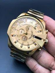 Analog Casual Wear Diesel Mens Wrist Watches