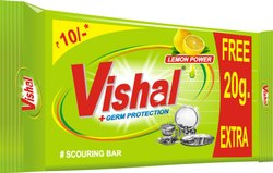 Vishal Solid Dish Bar, Packaging Type: Box, Packaging Size: 170 Gms