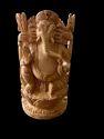 Ganesh Ji Wooden Murti 4 Inch