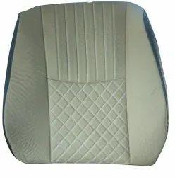 White Rexine Honda Amaze Car Seat Cover