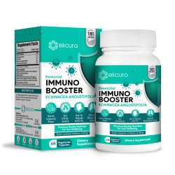Immune Booster Capsule - Elicura Immunity Booster (60 Veg Capsules)