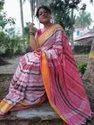 Party Wear Khadi Cotton Design Saree With Blouse Price