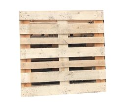 2 Way Brown Industrial Euro Pallet, For Warehouse & Export Purpose