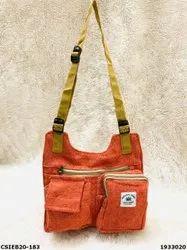 Stylish Exclusive Hemp Side Bag