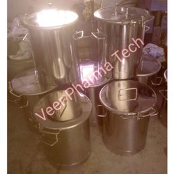 2000L Stainless Steel Chemical Storage Tank