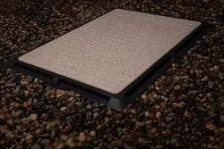 GRP/FRP Granite Finish Manhole Cover