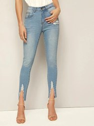BROADSTAR Skinny Women Jeans Pant, 10