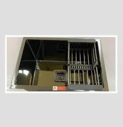 Aarvik Single Stainless Steel Black Mirror Handmade Sinks