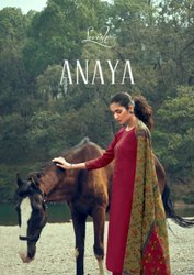 Levisha Anaya Jam Cotton Print With Embroidery Dress Material Catalog
