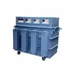 300 kVA Industrial Voltage Stabilizer 3 Phase - Oil Cooled