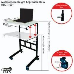 multipurpose height adjustable table
