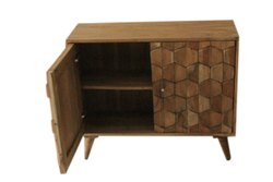 Brown Wooden Cabinet, For Home, 2x1x3.2 Feet