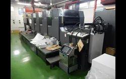 City Graphics Heidelberg SM-74 4PH Four Color Offset Printing Machine, Sheet Fed