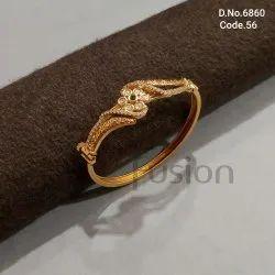 Fusion Arts Kundan Openable Bracelet