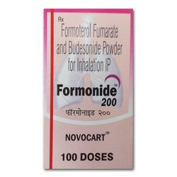 Formonide 200mg ( Formoterol flumarate & budesonide powder for inhaler IP))