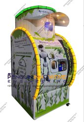 India's 1st Automatic Sugarcane Vending Machine