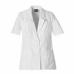 Cotton White Apron, For Hospital, Size: Medium