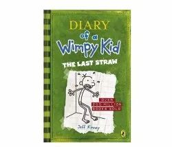 English Diary of a Wimpy Kid - The Last Straw Book