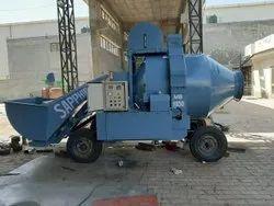 Mobile Batching Concrete Mixer