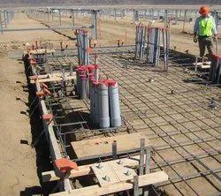 Civil Work for Solar Power Plant