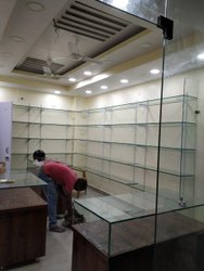 Plain Polished Office Decoration Glass, Thickness: 5mm