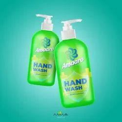 Amaaro Lemon Scent Hand Wash Liquid Soap, Packaging Type: Bottle, Packaging Size: 500g