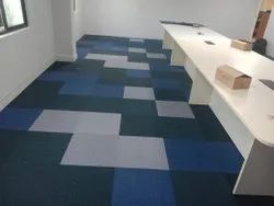 Multicolor Wall to Wall and Tile Carpet Flooring, Anti-Skidding