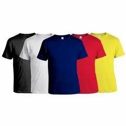 18-70 Men COTTON BASIC ROUND NECK T-SHIRTS, Quantity Per Pack: Single Piece Pack