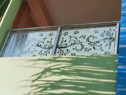 SS Glass Balcony Railing, For Home