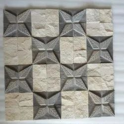 AxiomExports Star CNC Designer Mosaic Tiles, Size: 12x12 Inch, Thickness: 15-20 Mm