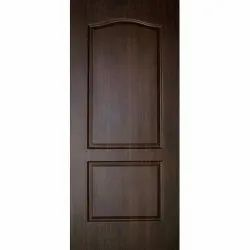 Brown Wooden Bathroom Door