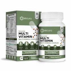 Multivitamin Capsules - Elicura Multi Vitamin (60 Veg Caps)