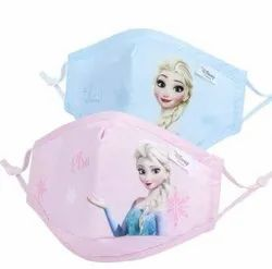 Kids Face Mask, Certification: Iso, Ce, Number of Layers: 2 Layer