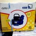 Cast Iron Single Phase Ksb Cute 1 Centrifugal Pump