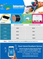 Home Broadband Services, 30 Days, 40 Mbps Unlimited