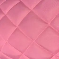 100% Polyester Plain Jacket Pink Quilting Fabric, GSM: 150